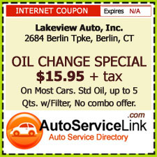 Berlin CT Oil Change Coupon